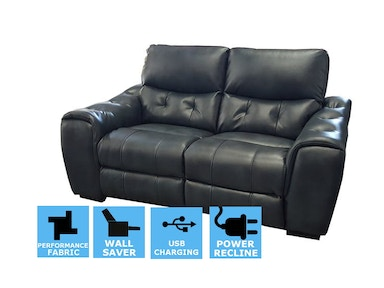 Finesse Motion Trevisio Power Recline Loveseat - Denim Bolero CLEARANCE PRICED 311670
