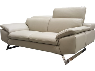 Finesse Modern Zuma Loveseat - 100% Leather 374030