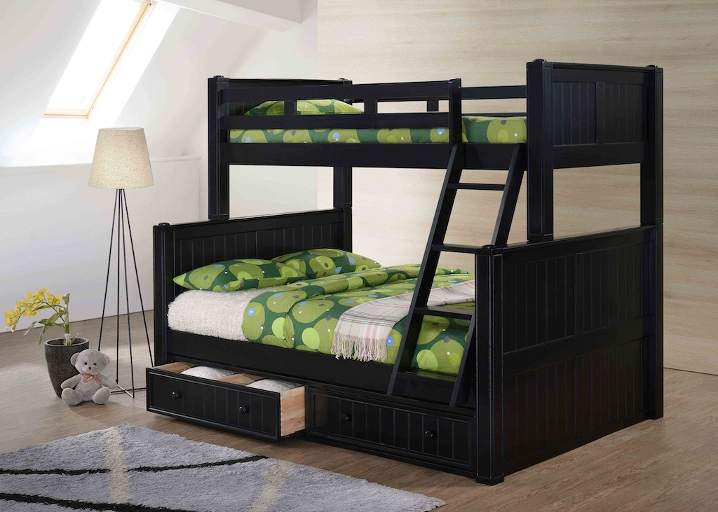 J A Y Furniture Twin Over Full Bunk Beds 0261 Simply Discount Furniture Santa Clarita And
