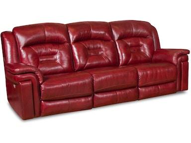 Reclining Sofa With Headrest
