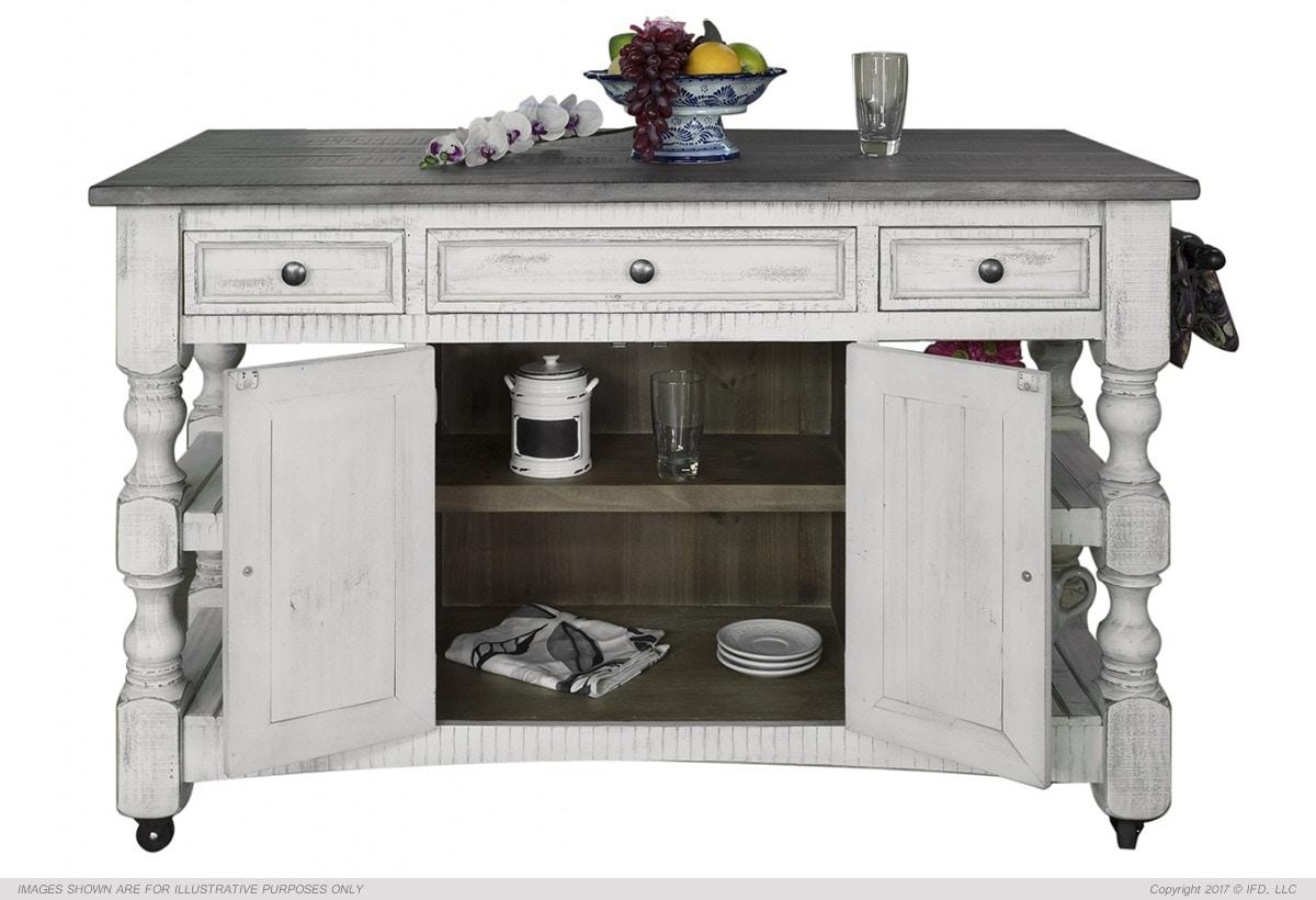 International Furniture Direct Home Entertainment Antique 52 Inch Tv