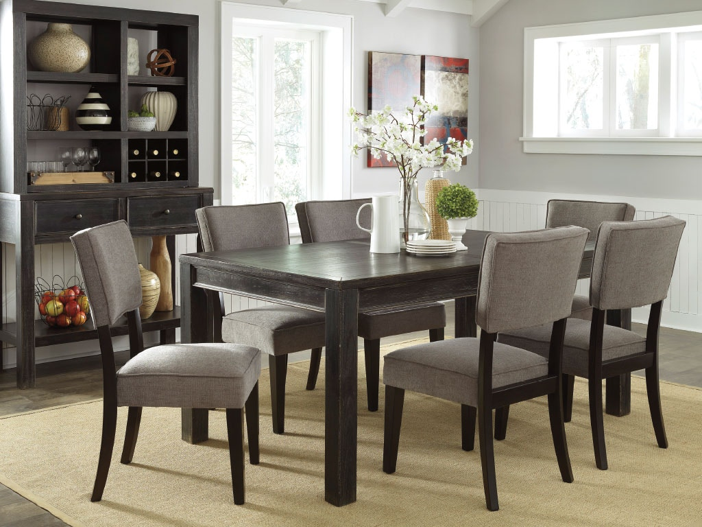 Ashley dining room table 4 side chairs dipkasd532a at american factory direct