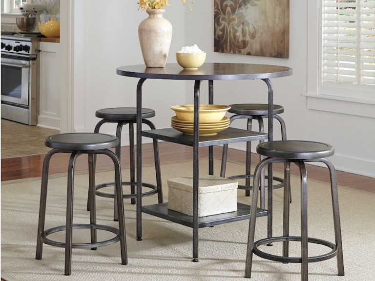 Ashley Dining Room Table Amp 2 Stools Dipkasd560a American