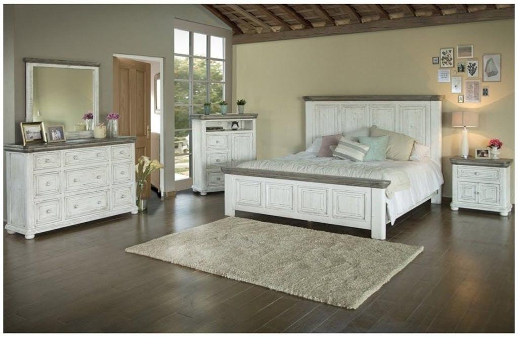 Afd Furniture Bedroom Luna Queen Bed Bdpkif768qa American Factory