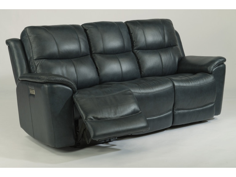 Flexsteel Living Room Bradford Leather Sofa Mtsofl118362 At American Factory Direct