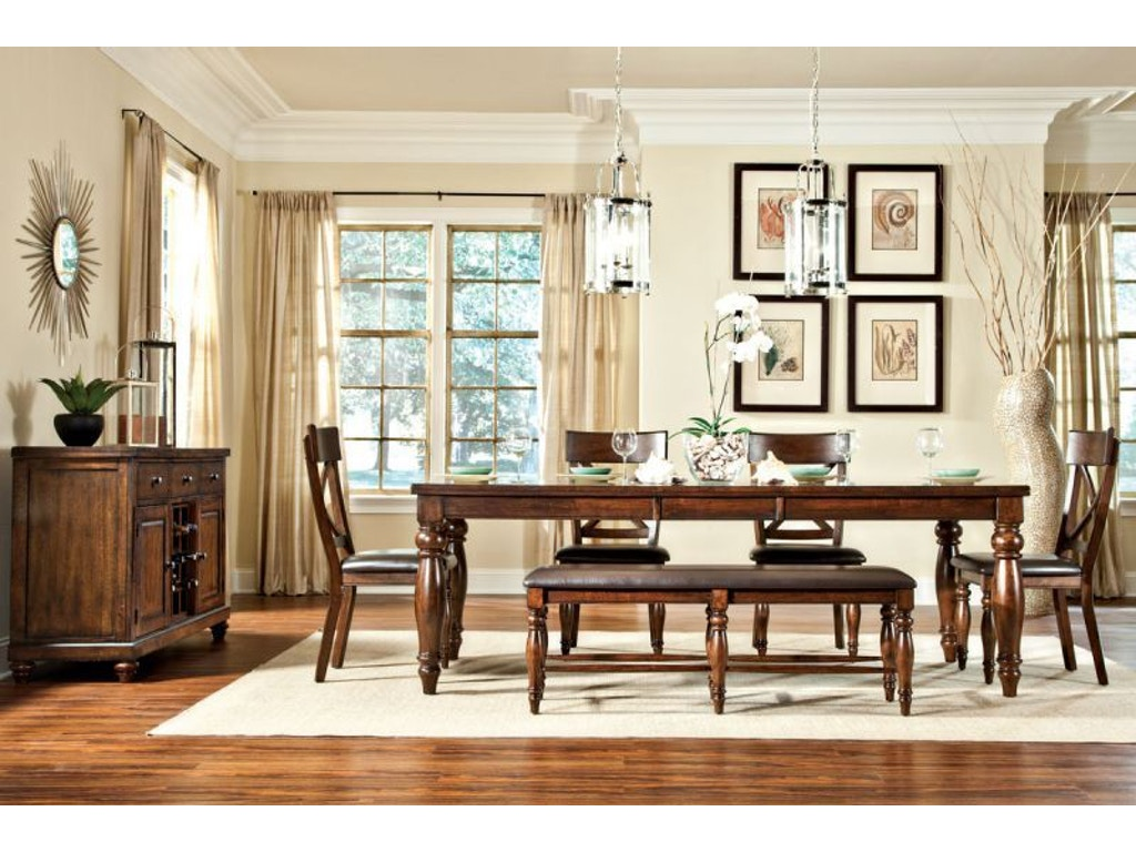 Craft Designs Dining Room Kingston Dining Table With 4