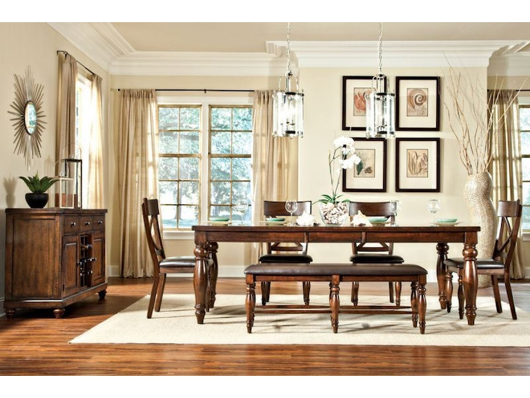 Craft Designs Dining Room Kingston Dining Table with 4 Chairs ...