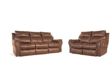 Allure Power Reclining Sofa & Loveseat