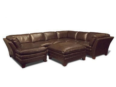 Anaheim Left Chaise Sectional, Ottoman FREE