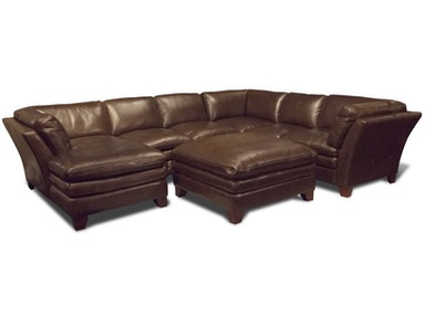 Anaheim Left Chaise Sectional Ottoman Free