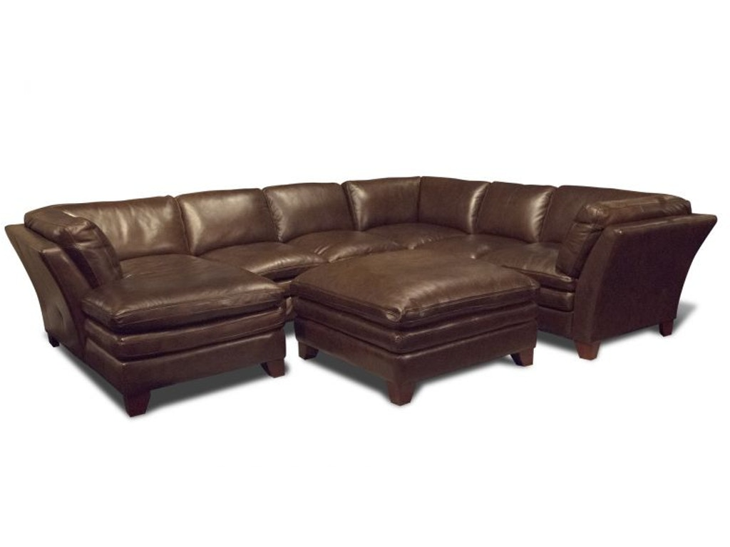 Futura Living Room Anaheim Left Chaise Sectional Ottoman Free