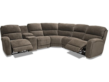 Chester Reclining Sectional Heat And Air Mage