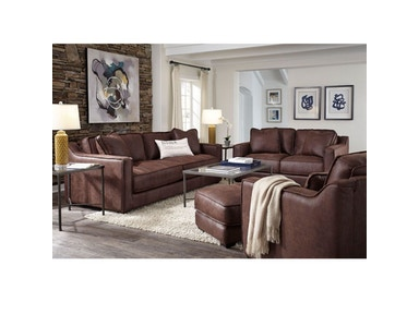 Crocket Sofa and Loveseat