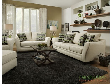Delaney Upholstered Living Room Set with 3 Tables