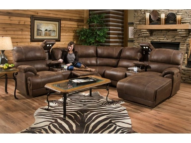 Empire Power Sectional, 55&#34 TV Free