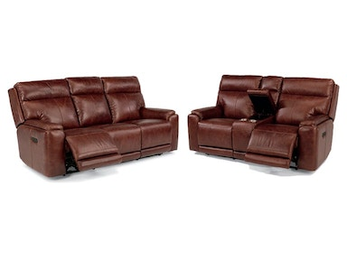 Ethan Power Headrest, Reclining Sofa and Loveseat