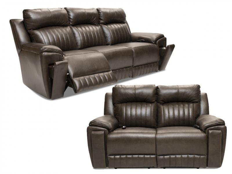 Southern Motion Lexie Reclining Set With Heat And Air Massage