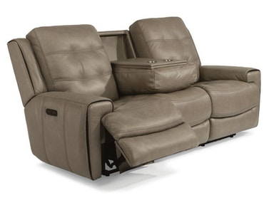 Lucas Power Headrest Reclining Sofa and Loveseat