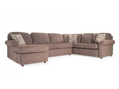 Marcia Sectional with Ottoman