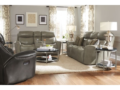 McShane Power Reclining Sofa and Loveseat