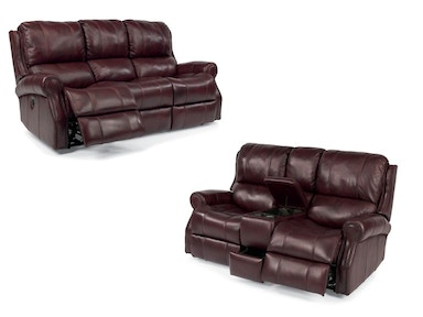 Miles Power Sofa and Power Loveseat