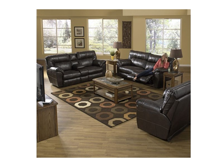 Catnapper Living Room Nolan Reclining Sofa Loveseat And Recliner 55NOLAN B