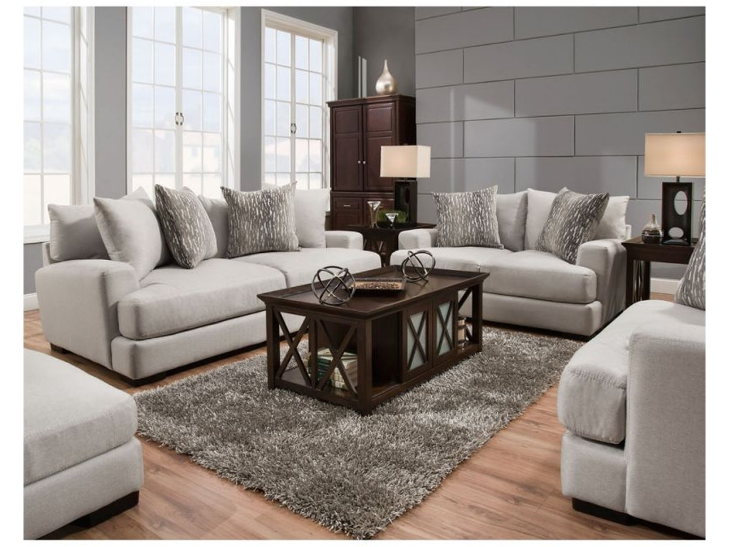 Franklin Living Room Oslo Sofa And Loveseat