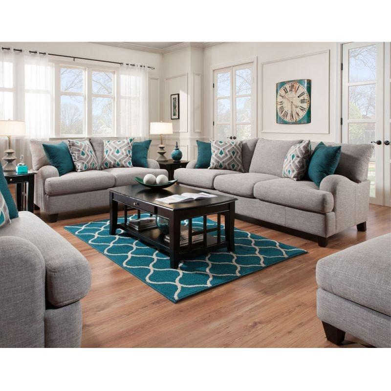 Franklin Living Room Penelope Sofa And Loveseat