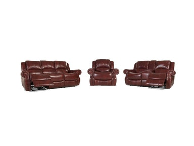 Softy Leather Power Reclining Set, Recliner Free