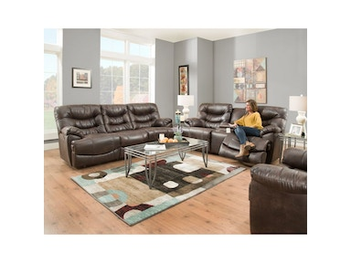 Touchdown Reclining Sofa and Loveseat