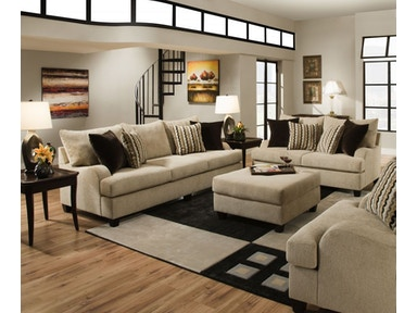Trididad Sofa and Loveseat