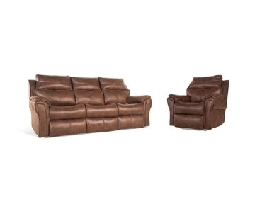 Allure Power Reclining Sofa and Recliner