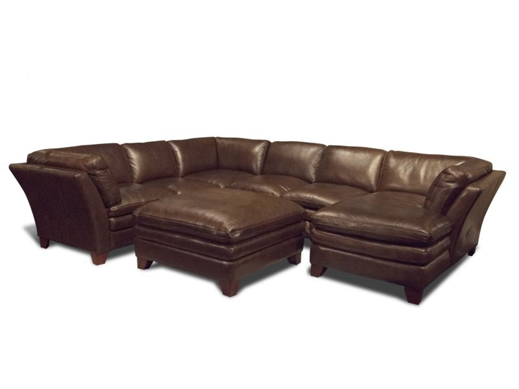 Futura living room anaheim right chaise sectional ottoman for Bobs furniture chaise