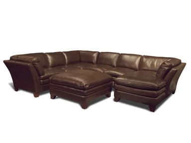 Anaheim Right Chaise Sectional, Ottoman FREE