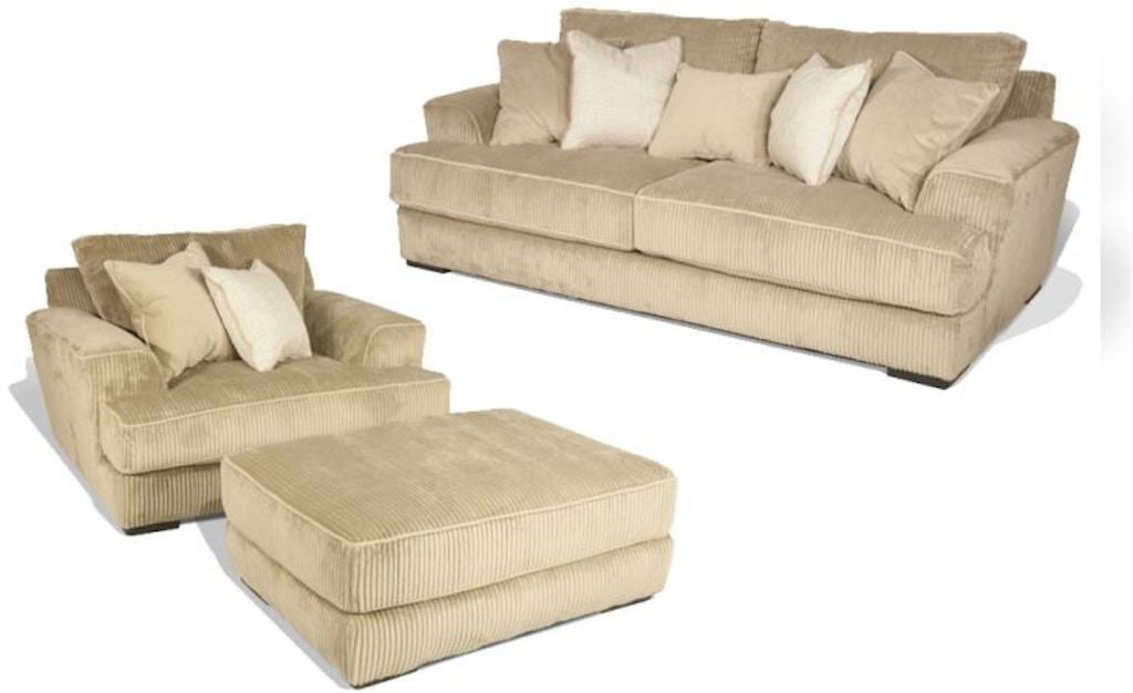 Sofa Master Baltic Chair And Ottoman 56baltic