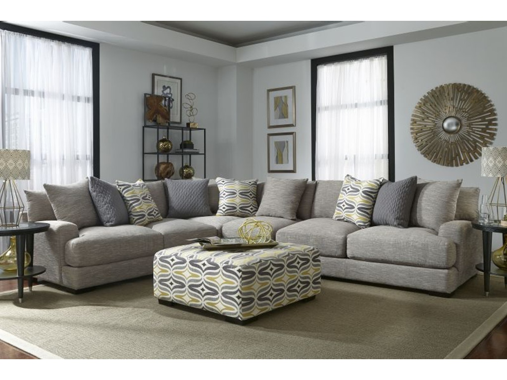 Franklin Living Room Barton Sectional Armless Chair FREE 55BARTON Bob Mill