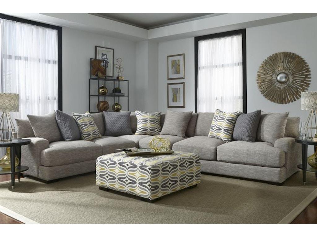 Franklin Living Room Barton Sectional Armless Chair FREE 55BARTON Bob Mill
