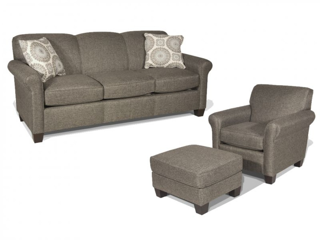 England Living Room Brianne Sofa Chair And Ottoman