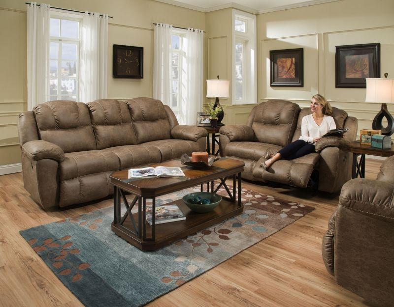 Commodore Reclining Sofa, Loveseat And Recliner