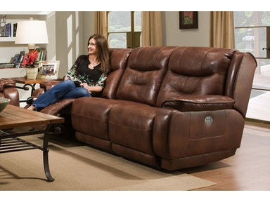 Crescent Sofa and Recliner
