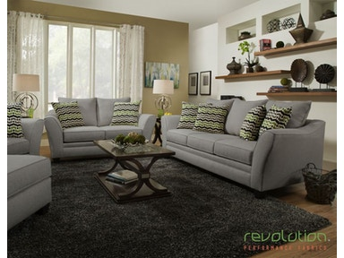 Delaney Gray Sofa And Loveseat