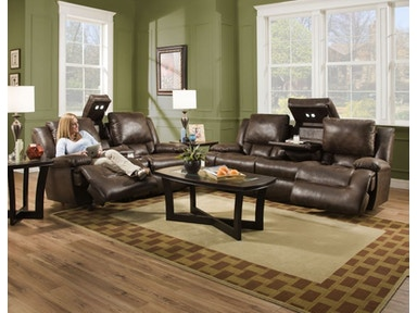 Excalibur Power Headrest Sofa and Recliner