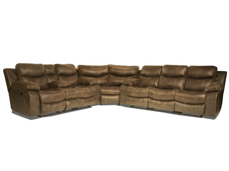 Catnapper Gustavo Reclining Sectional 56GUSTAVO