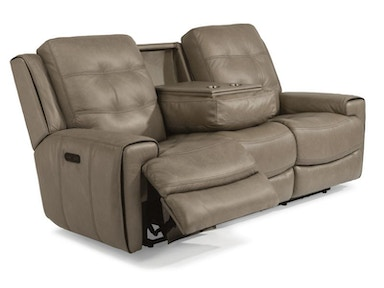 Lucas Power Headrest Reclining Sofa and Recliner