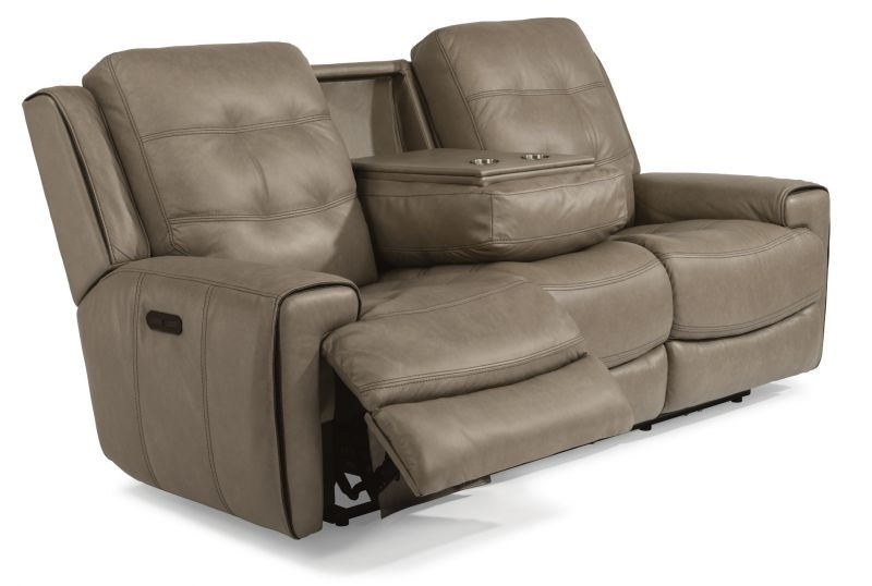Lucas Power Headrest Reclining Sofa And Recliner