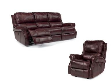 Miles Power Sofa and Power Recliner