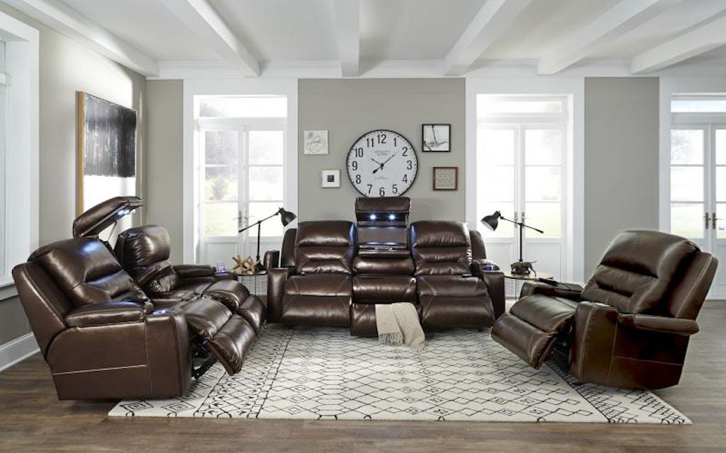 Peachy Nova Leather Power Reclining Sofa And Recliner Machost Co Dining Chair Design Ideas Machostcouk