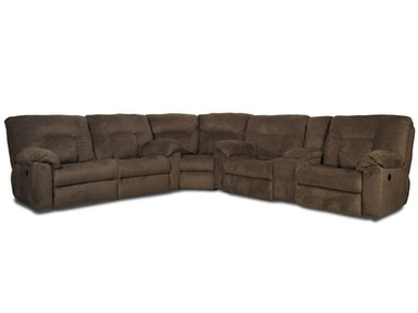Stratus Reclining Sectional