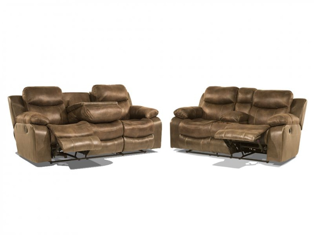Catnapper Living Room Gustavo Power Reclining Sofa And Loveseat