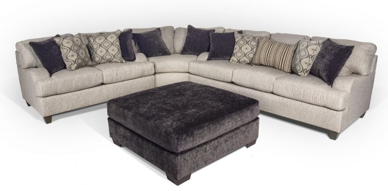 Lennox Sectional With Cocktail Ottoman